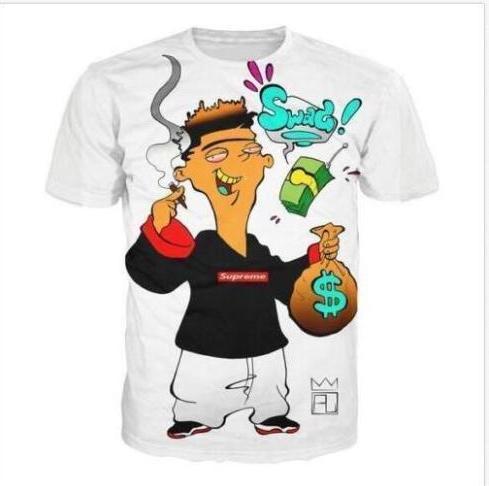 Summer Style Ed Edd e Eddy Ottiene un torsione Urban T-shirt Moda Uomo Donna 3D Character T-shirt Casual T Shirt 3D Print T Shirt Top