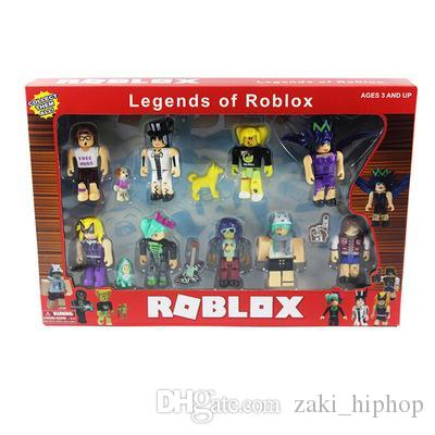 Newest 9 Pcs/set Roblox Random DIY Figure Jugetes 8cm PVC Game Figuras Roblox Boys Toys for Roblox Game Birthday Gift Party Toy