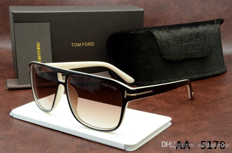 Tom 5178 Için en Kaliteli Yeni Moda Güneş Gözlüğü Erkek Kadın Gözlük Tasarımcı marka orijinal kutusu Ile Güneş Gözlükleri ford Lensler