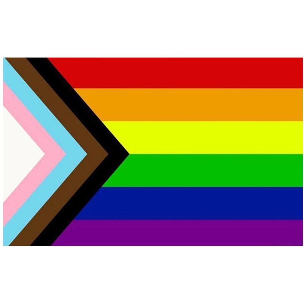 Günstige 3x5ft Aerlxemrbrae Flagge Regenbogen-Flaggen-Fliegen-Fahne LGBT Stolz-Fahne Dekoration Polyester Werbung, freies Verschiffen