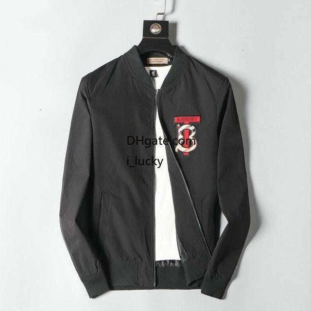 남성 재킷 디자이너 일반 성격 문자 스티커 패션 슬림 트렌드 편안한 재킷 새로운 2019 스포츠 용 재킷의 일종