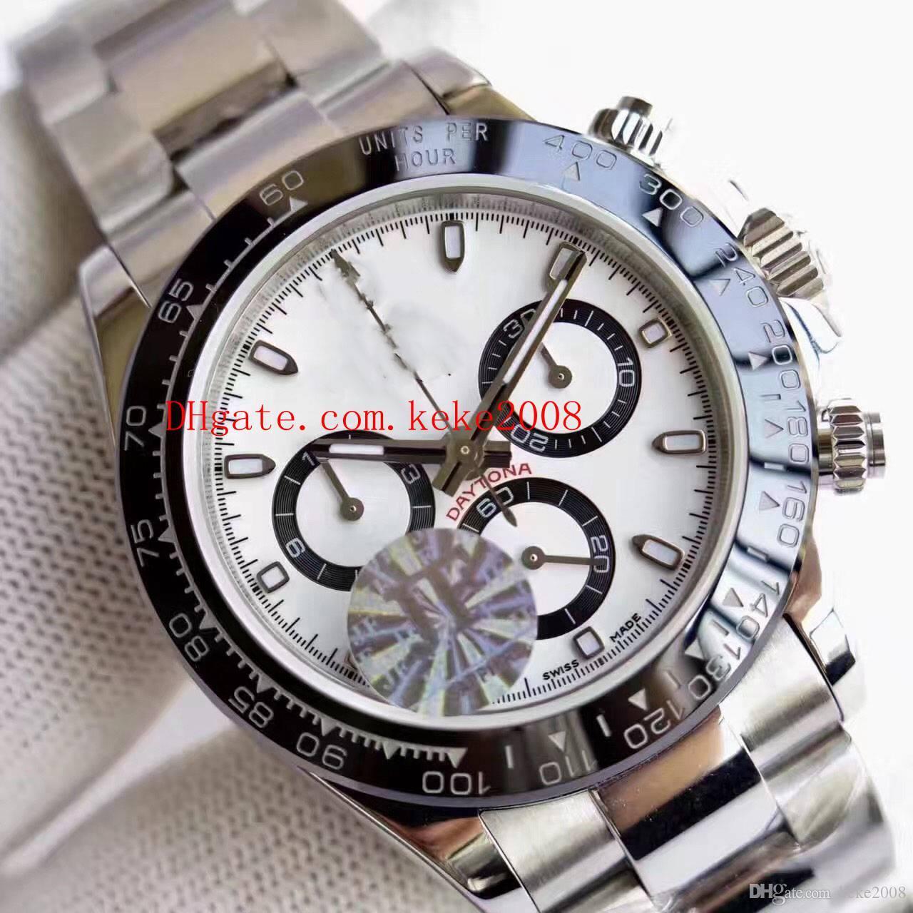 Best Edition наручные часы V2 версия J завод Cosmograph 116506 116520 116509 116500 40 мм ETA Механизм хронограф Мужские часы Наручные часы