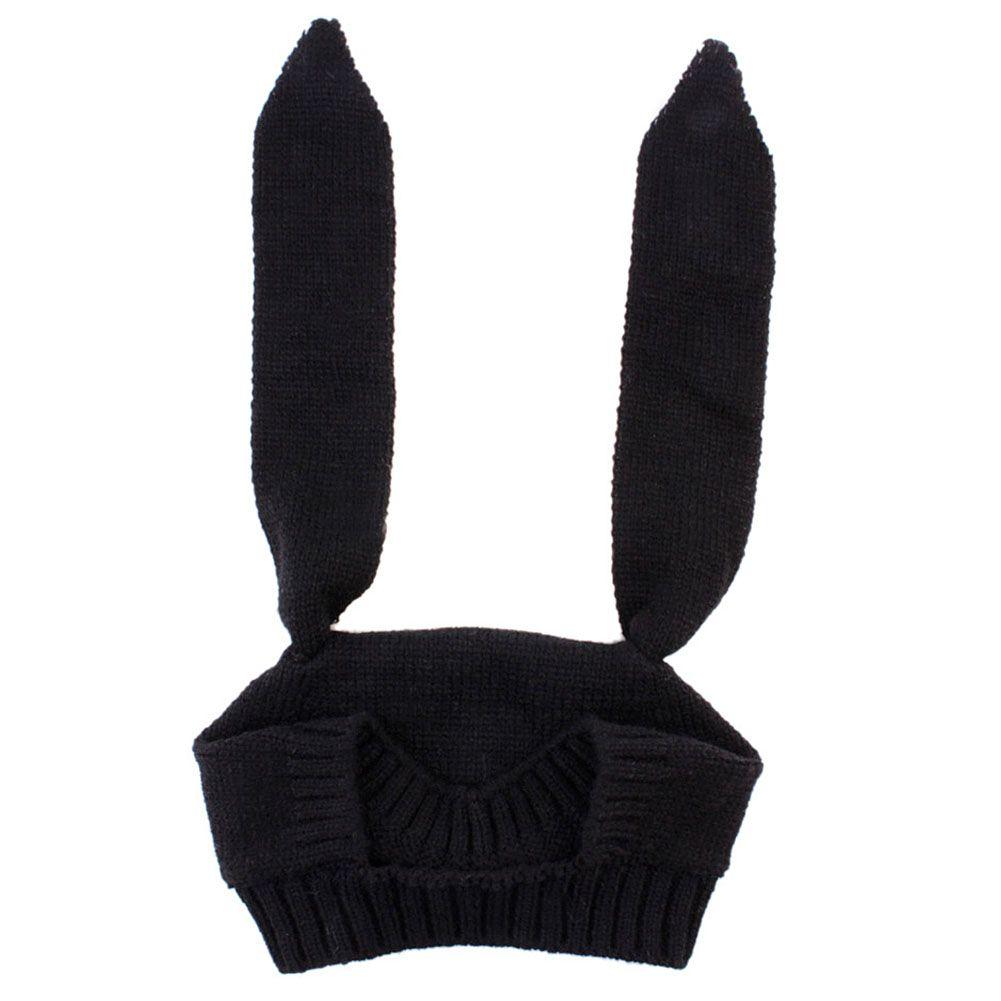 1pc Moda Bebek Tavşan Kulakları Örme Şapka Bebek Yürüyor Kış Cap 1-3 yaşında kız çocuk Aksesuarları Fotoğrafçılık Dikmeler İçin Çocuk