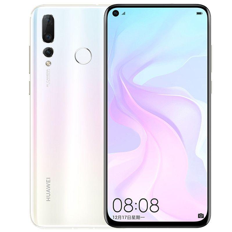 "Original Huawei Nova 4 4G LTE Cell Phone 8GB RAM 128GB ROM Kirin 970 Octa Core Android 6.4"" Full Screen 48.0MP Fingerprint ID Mobile Phone"