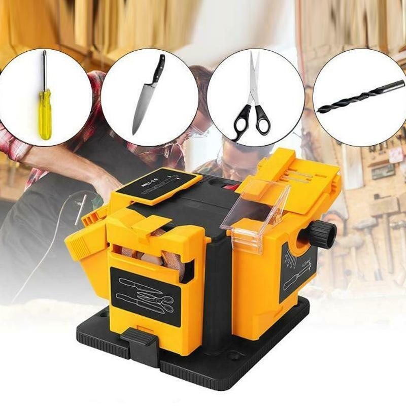 Multifunction Electric Sharpening Tool Grinding Rig Twist Drill Machine J8 #3