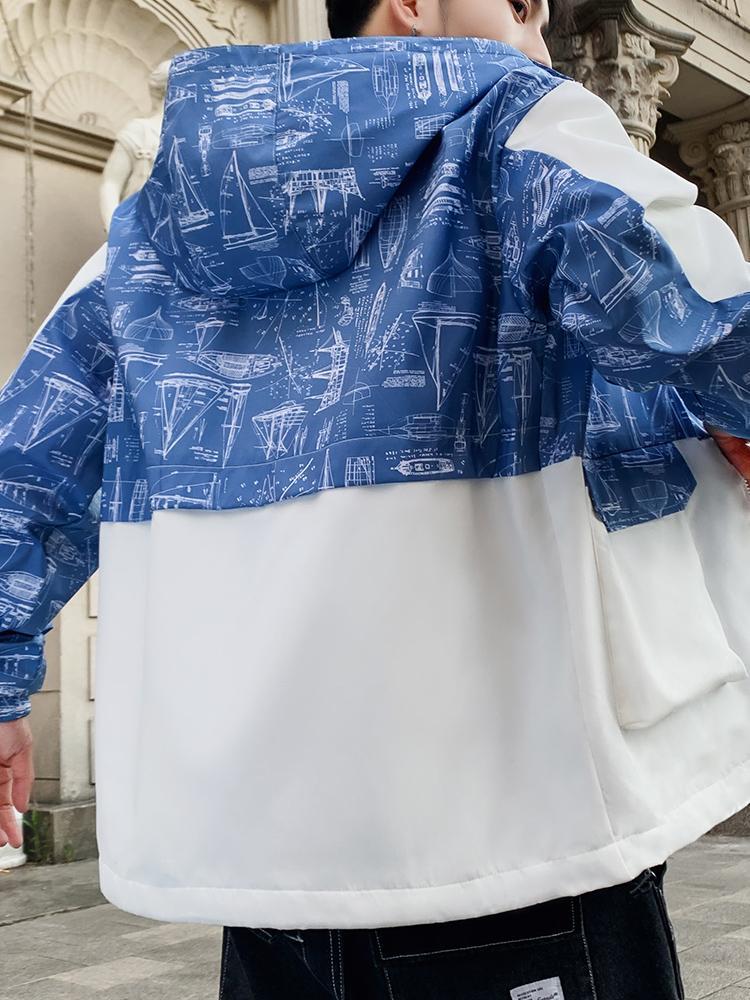 2019 Marque Qualité manches longues New Designer vestes pour hommes Mode et couleurs naturelles pour le sport Manteaux Casual avec Taille S-2XL B100196Q