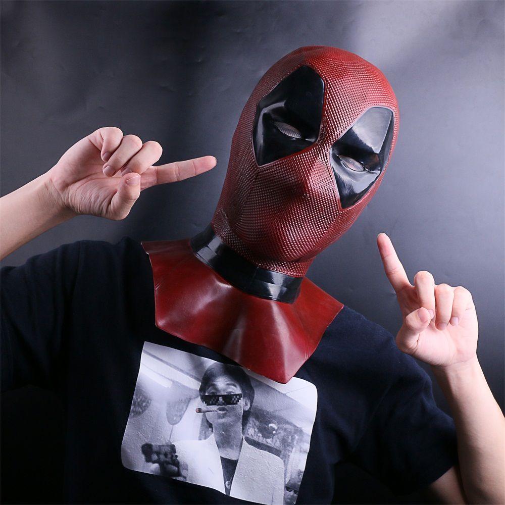 Hot Movie Deadpool 2 Masks Cosplay Costume Props Superhero Movie Full Face Halloween Mask