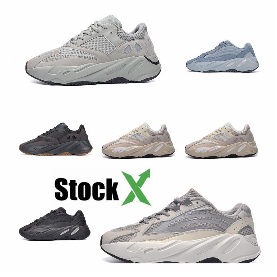 2020 Лучшие качества с коробкой Дешевые 700 V3 Azael Kanye West обувь Мужские кроссовки для мужчин 700S обувь Спорт Tripler Мода кроссовки # DSK173