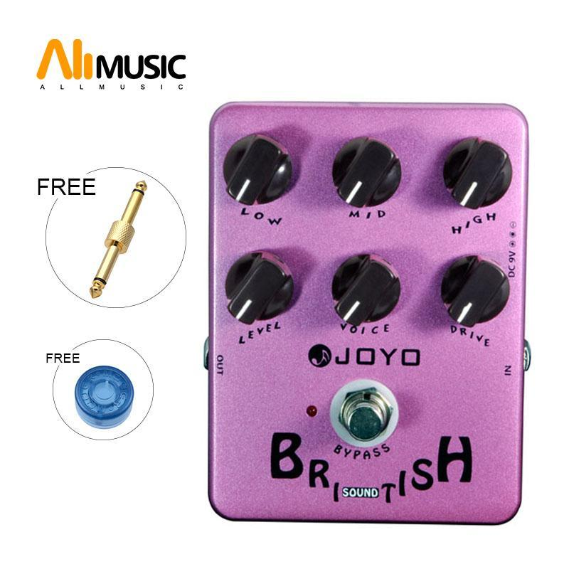 Joyo JF-16 britischen Sound Effects Pedal mit klassischen Brit-Rock-Ära Amp Simulator und einzigartig Voice Control MU0016
