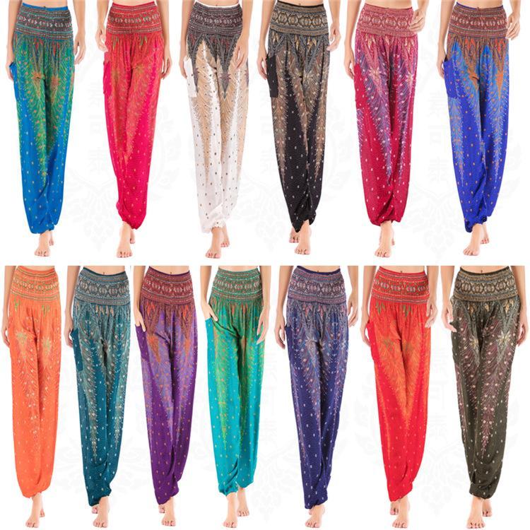 Spring Fashionable female leggings elastic pants for girls yoga trousers