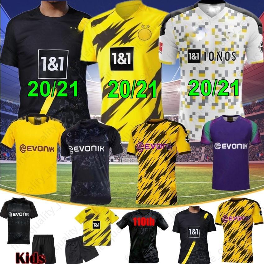 2020 Borussia Dortmund 17 Haaland Reyna 110th Soccer Jersey 19 20 21 Hazard Gotze Reus Witsel Jersey Paco Alcacer Football Shirt Men Thai From Fine Quality Jerseys 12 78 Dhgate Com