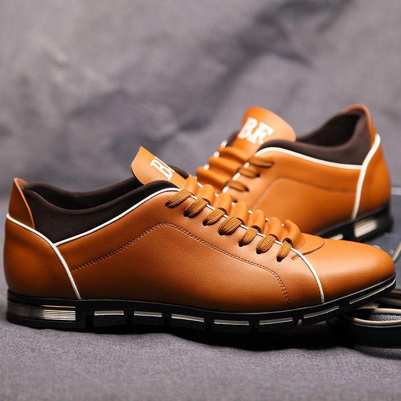 ZERO MORE Big Size 38-50 Men Casual Shoes Fashion 5 Colors Hot Sales Shoes for Men Spring Comfortable Men's Dropshipping