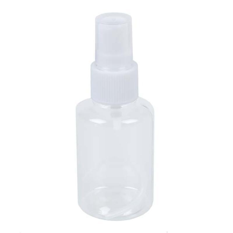 Mini botella del aerosol de perfume vacía del atomizador cosmética portátil de viaje desinfección por pulverización Botella 25Pcs30Ml + 25Pcs50Ml