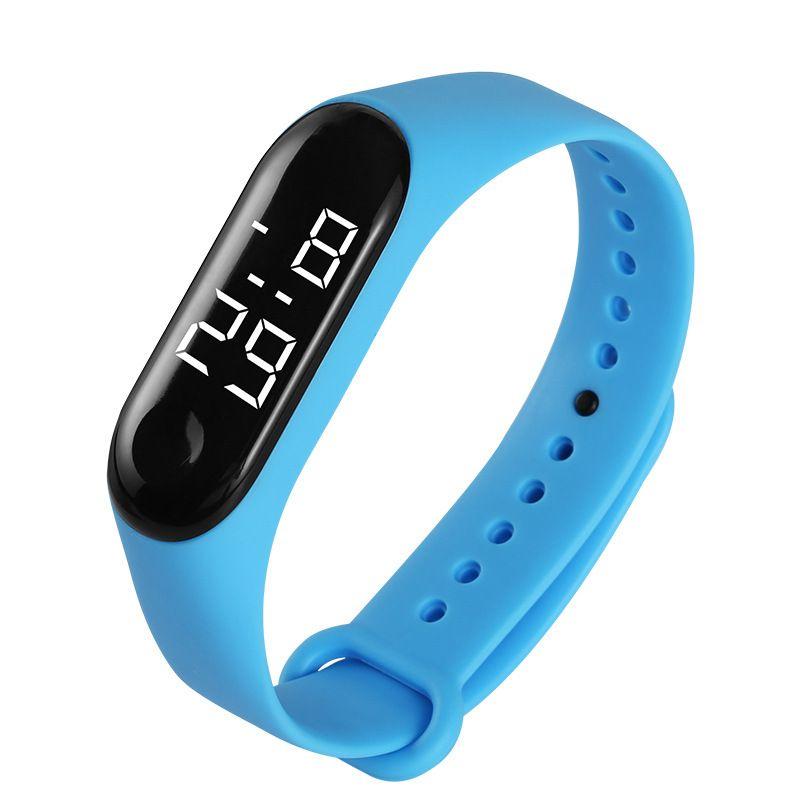 2020 Art und Weise Frauen der Männer Studenten weiße LED-Digitaluhr Kinder Kinder Freizeitsport Handgelenk Uhr Geschenk-Armbanduhr