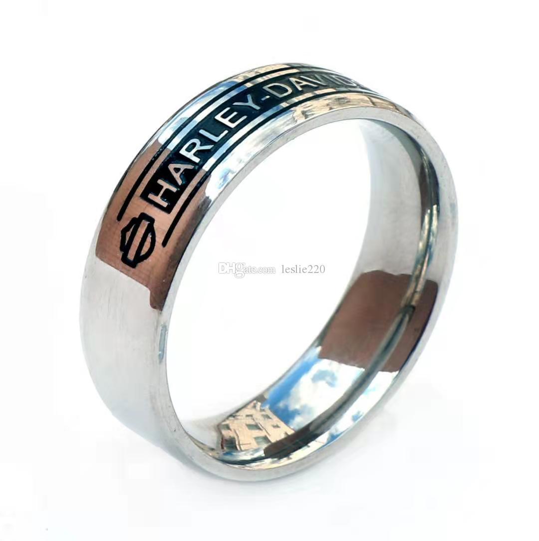 5 teile / los Neue größe 7-13 Kühle Daect Biker Schädel Ring 316L Edelstahl Modeschmuck Heißer Verkauf Motorräder Biker Schädel Ring