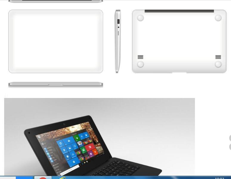For US customer cheap and quality light PC netbook computer 10.1 inch screen size 2gb ram 32gb ssd Win10 O.S