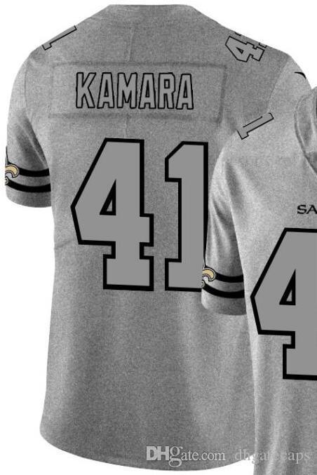 Chanvre Ash Throwback Limited Jersey Man Nouvelle-Orléans Hommes 9 13 41 Chemises en jersey Toutes les équipes maillots de football américain