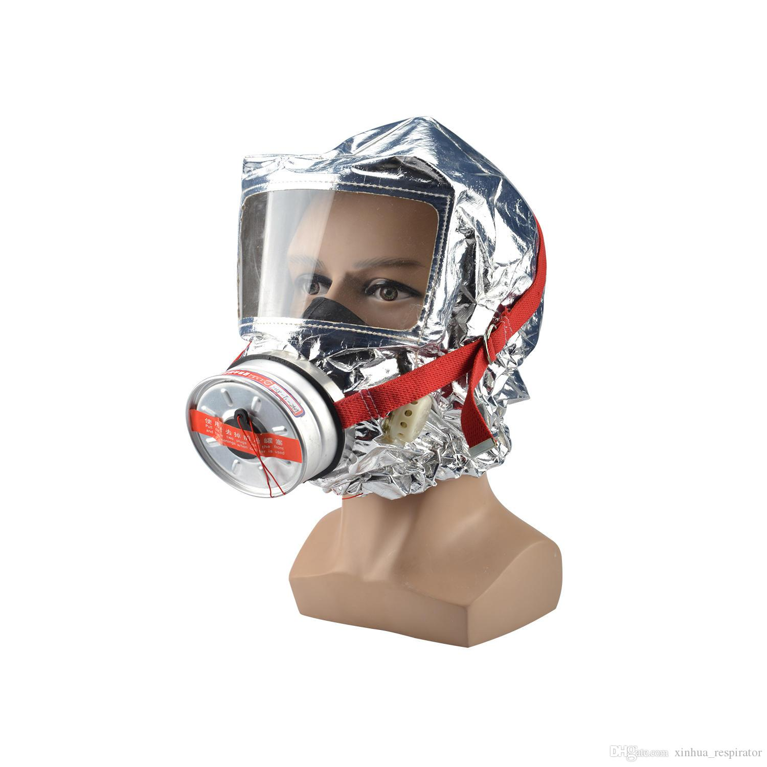 2019 FireMask Escape A Fire Safely Emergency Respiratory Protective Device  Against Smoke, Carbon Monoxide And Toxic Fumes From Xinhua_respirator,