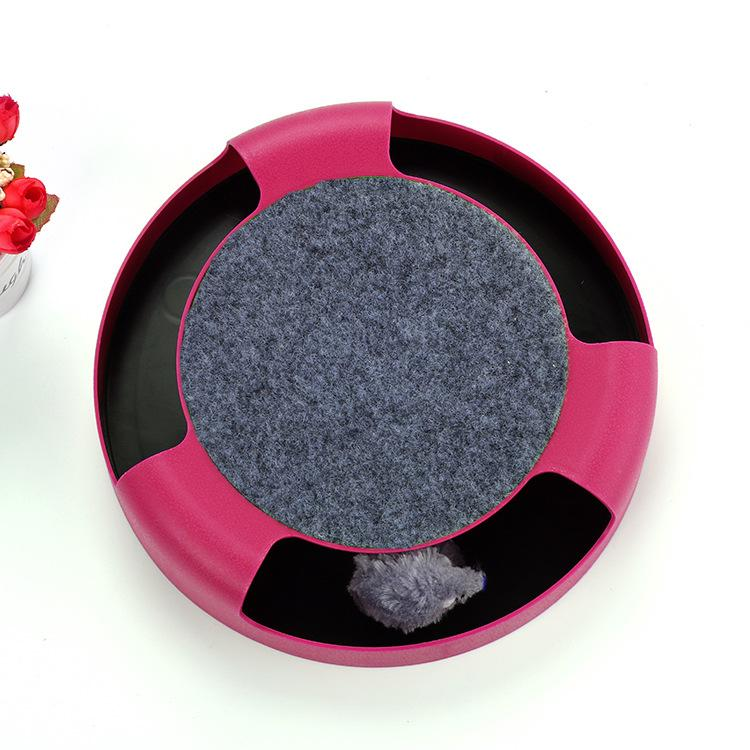 Fast selling cat toy mouse Play plate puzzle tease Cat cross-border explosion factory spot Direct sales