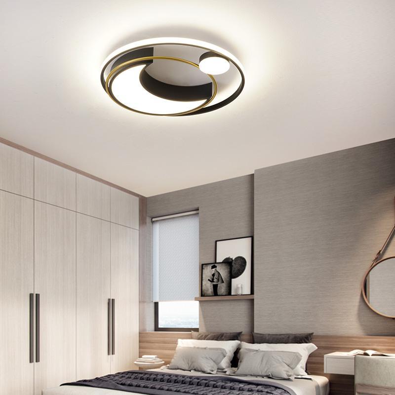 Awsiaiton Moderne LED-Deckenleuchten für Haus Wohnzimmer Schlafzimmer AC85-265V lampara de techo runde LED-Deckenleuchte