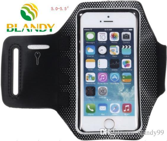 For Iphone for samsung phone Waterproof Sports Running spot Armband Case Workout Armband Holder Pounch Cell Mobile Phone cases Arm Bag Band