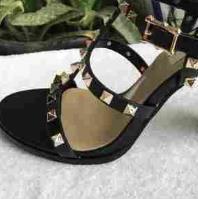 Designer-ets Sandalen mit 9,5 cm hohen befestigter Art und Sandalen 6 Farbe 35-41 Größen