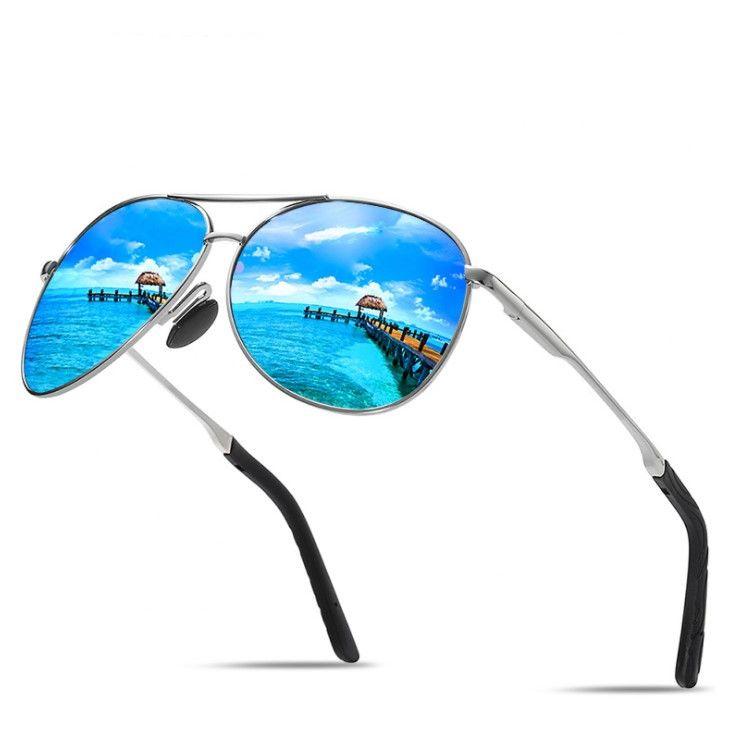 Hot Summer Mens Designer Susssins Man Beach Goggle Sunss Moddl 8013 UV400 6 Color High Quality