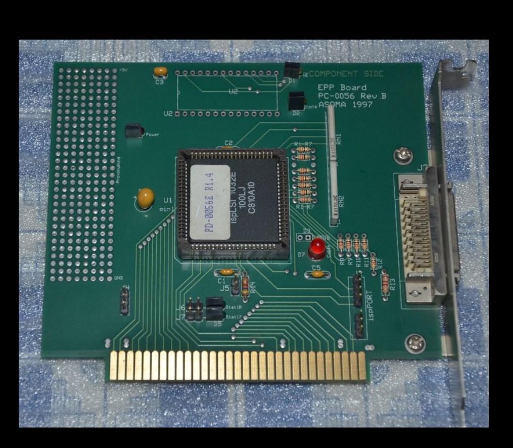 PARÇA YAN EPP KURULU PC-0056 REV.B Asoma 1997 için Çalışma Mükemmel Test% 100