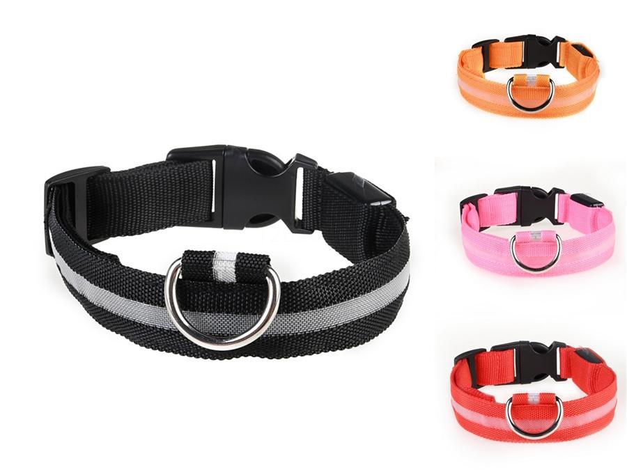 Chien Led Collier 2020 Discount Pet Supplies Dog Led collier pour une petite ou moyenne unique Led collier de chien Accessoires en ligne # 193
