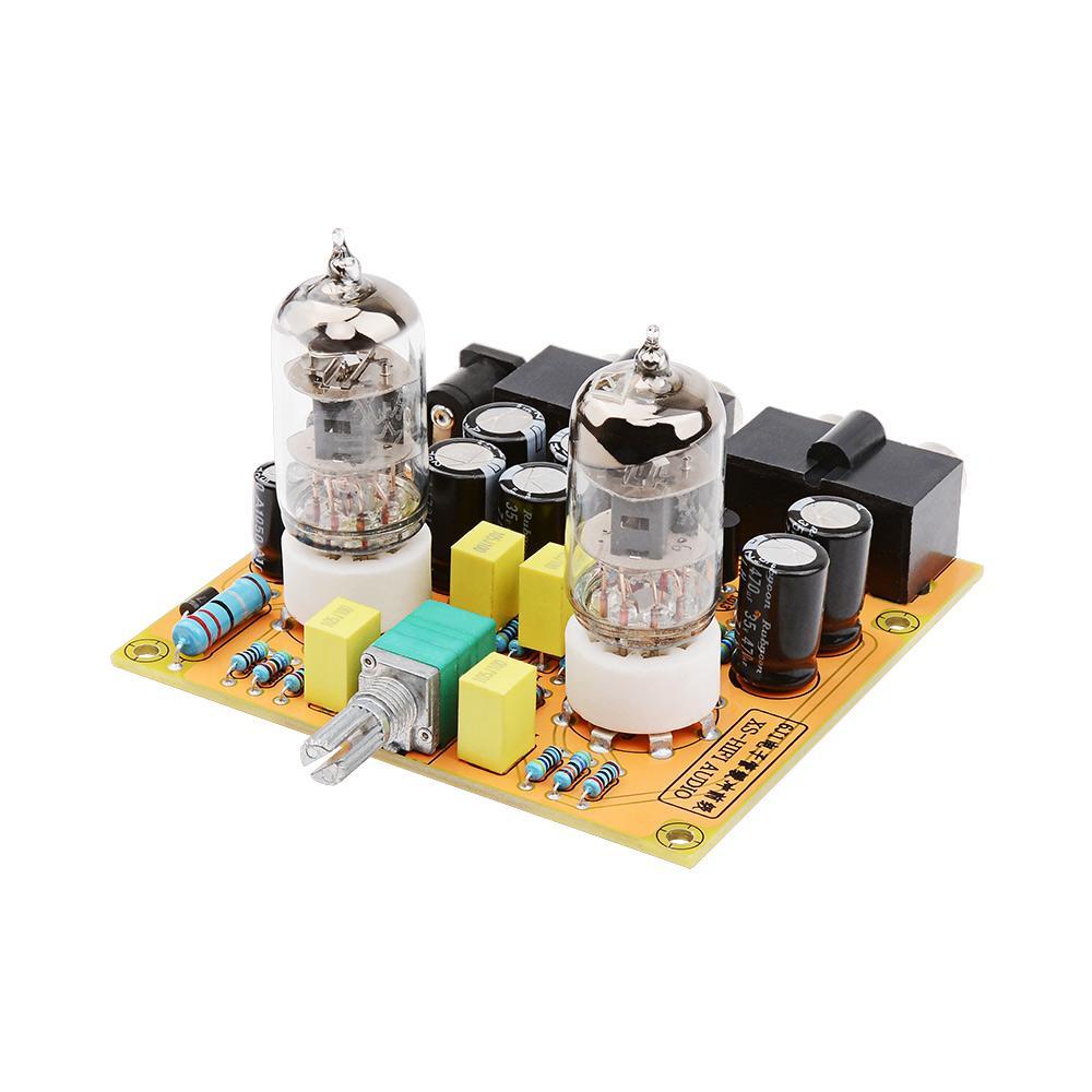 AIYIMA 6J1 Placa de amplificador de preamplificador de tubos Clase de alta fidelidad A AMP 6J2 Preamplificador de bilis de vacío Control de tono de graves en el hogar Teatro de sonido