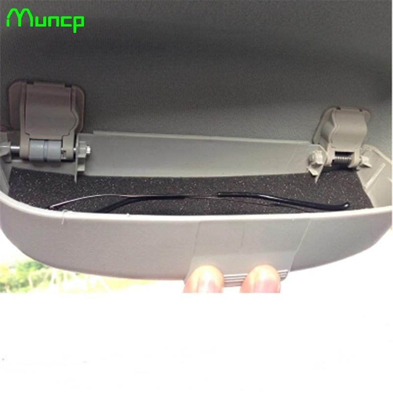 Muncp Óculos de carros titular caso dos vidros Para Caixa de armazenamento - Série-A B C D E S G H ML GLK CL CLK CLS GL GLK R SL SLK