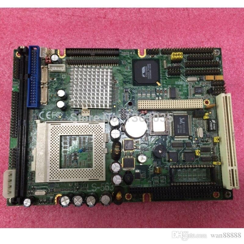 Trabajo 100% probado perfecto para la placa de CPU industrial LS-563