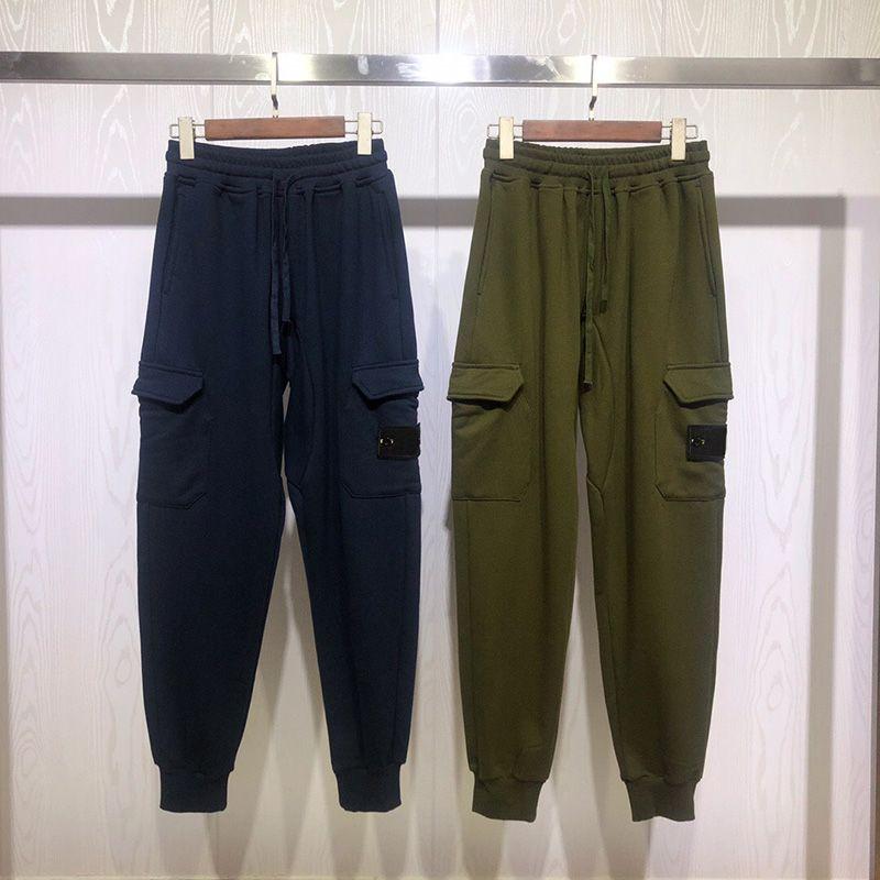 Ünlü Yeni Geliş Erkek Stilist Pantolon Moda Erkek Yüksek Kalite Sweatpants Erkekler Stilist Streetwear Koşu Pantolon