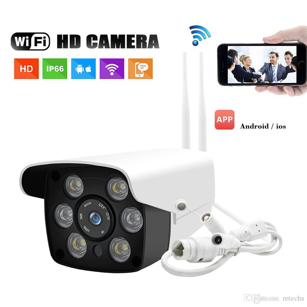 كاميرا IP لاسلكية 1080P HD الأمن عن بعد Moniter في الهواء الطلق التكبير الرقمي كاميرا الأشعة تحت الحمراء للرؤية الليلية واي فاي IP66 وظيفية للماء