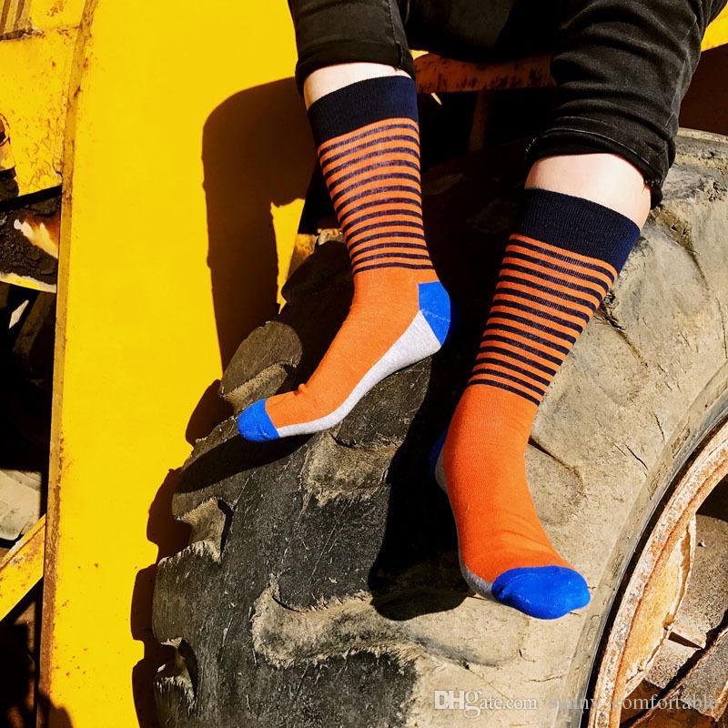 05d6d8839d65 ... 41 Fashion Socks 05 Men's Fun Dress Socks-Colorful Funny Novelty Crew  Socks Large Size ...