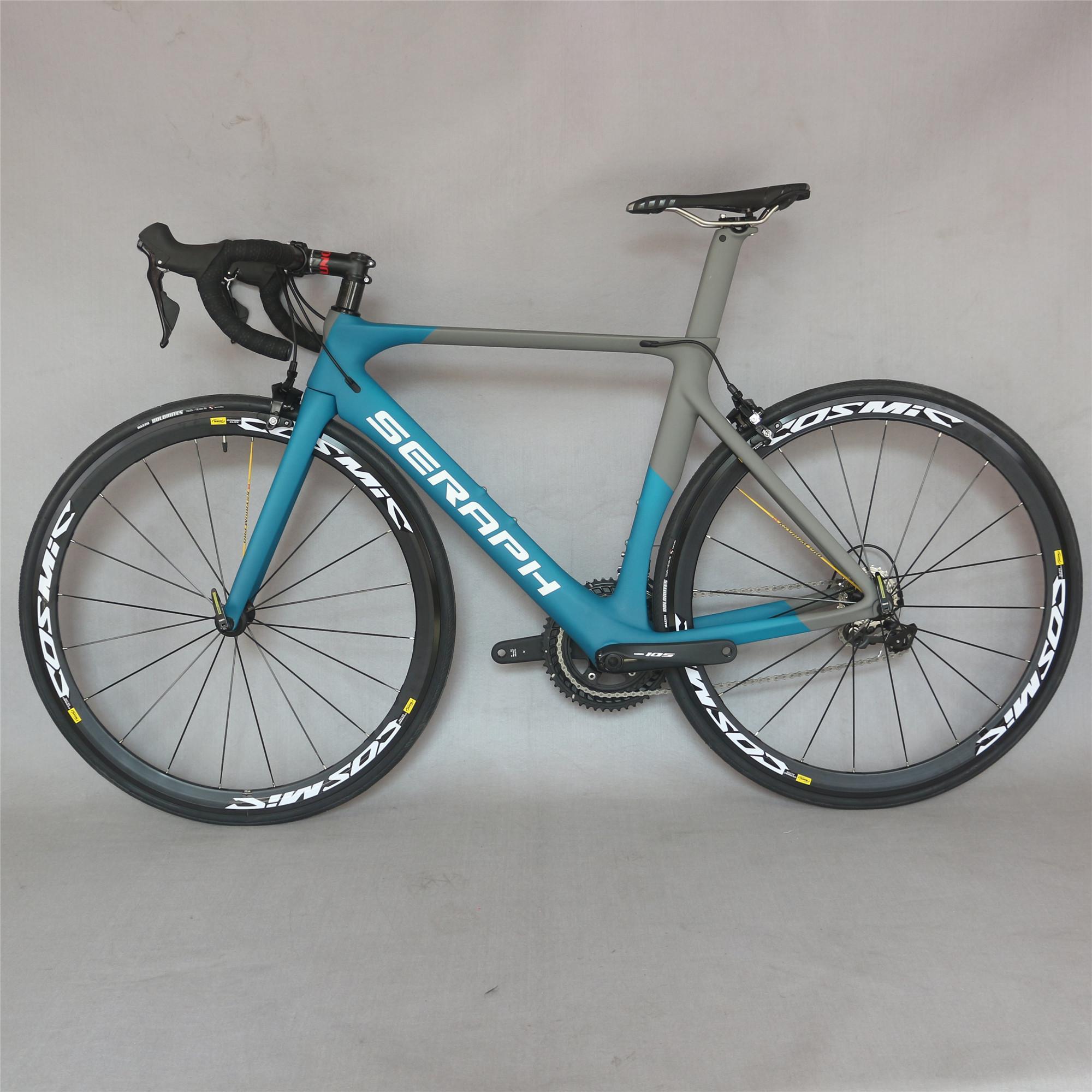 Полная дорожная карбоновая велосипед, карбоновый велосипед Дорожная рама с GOUNDSSET SHI R7000 22 SPEECT ROAD велосипед Полный велосипед