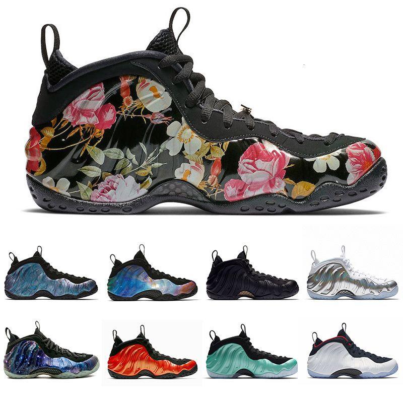 Yeni Penny Hardaway Erkekler Basketbol Ayakkabı Alternatif Galaxy Krom Galaxy 1.0 Vachetta Tan Olimpik Erkek Eğitmen Spor Sneakers Ucuz Satılık