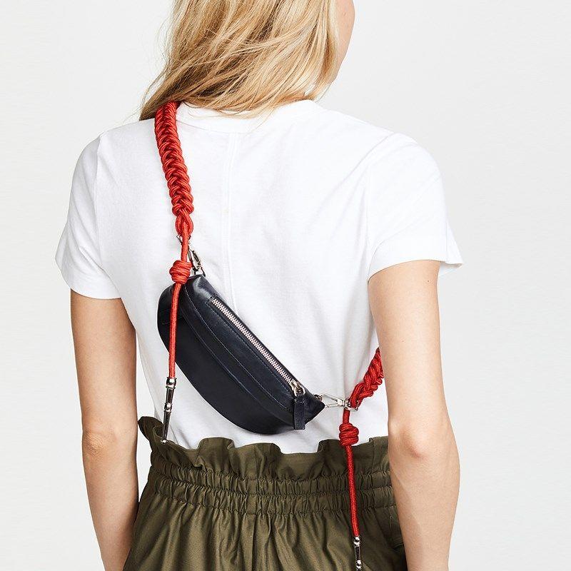 Saco da cintura fanny pack cinto saco mulheres coxa sacos moda outono inverno 2018 novo preto amarelo azul orange transporte da gota