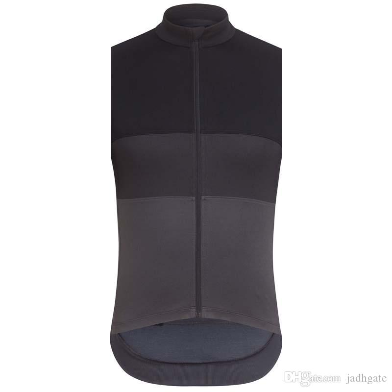 RAPHA team Cycling Sleeveless jersey Vest Breathable Quick Dry Polyester Tops Outdoor sportswear summer clothing mens U70352