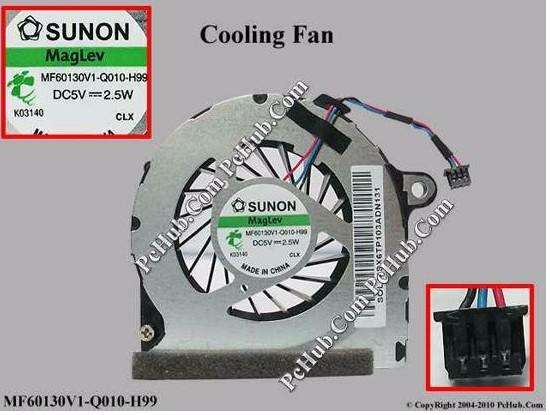 Toptan Marka HP MF60130V1-Q010-H99 soğutma fanı