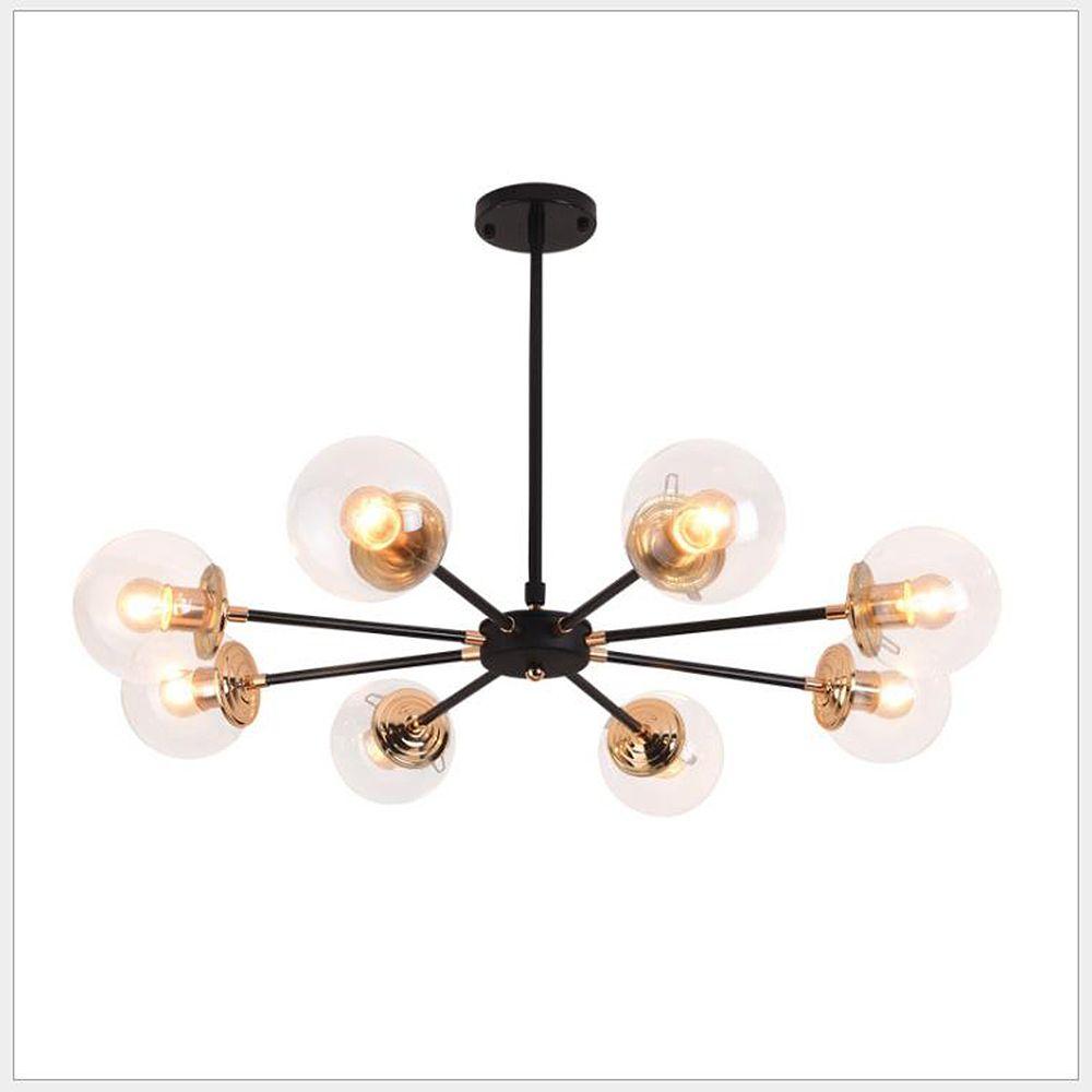 Minimalista moderno arredamento d'interni lampadario tarassaco creativo lampadario molecolare lampadario sala soggiorno camera da letto
