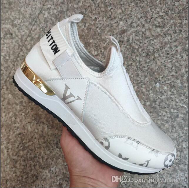 New Hot 2019 Femmes / Hommes Chaussures de sport classique Marque Athletic Formateurs Femmes Chaussure de course Chaussures de sport Chaussures de sport Casual Taille 37-41