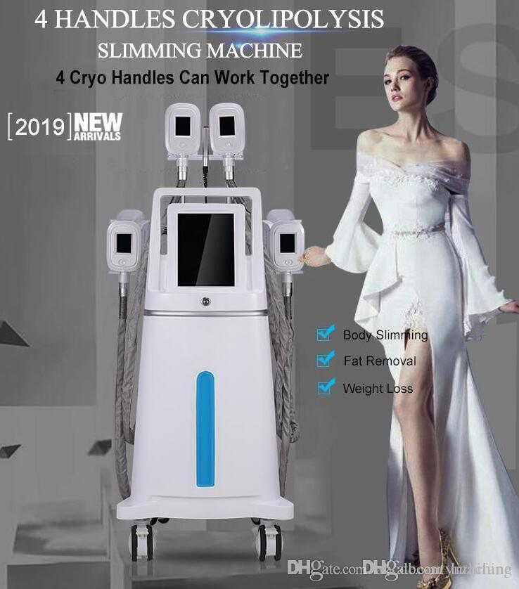 2019 mais novo venda quente cryolipolysis + cavitação + rf + lipolaser multifuncional ultracavitador gordura congelando máquina de emagrecimento para emagrecimento