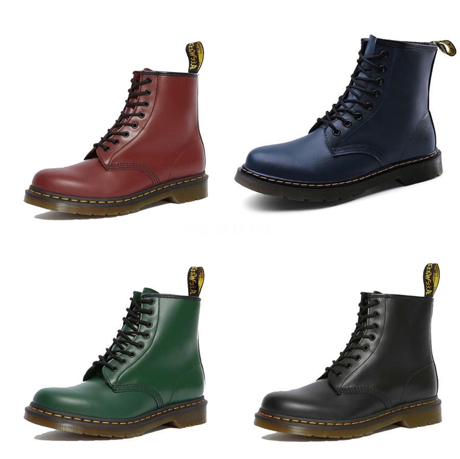 Nueva lista de alta calidad tendencia de la moda de Europa y América Martin botas personalidad salvaje Primera Capa De Zapatos de cuero para hombre # 606