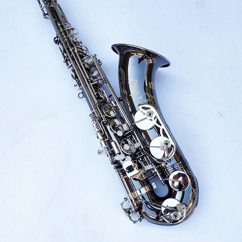 Almanya JK SX90R Keilwerth 95% Kopyalama Tenor Saksafon Nikel Gümüş Alaşım Tenor Sax Üst Profesyonel Müzik Enstrüman
