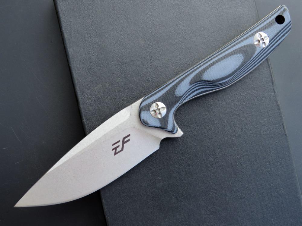 eafengrow EF108 D2 düz Bıçak Çoklu Araçları Cep Survival şimdi hediye bıçak bıçak G10 kolu Taktik Avcılık sabit
