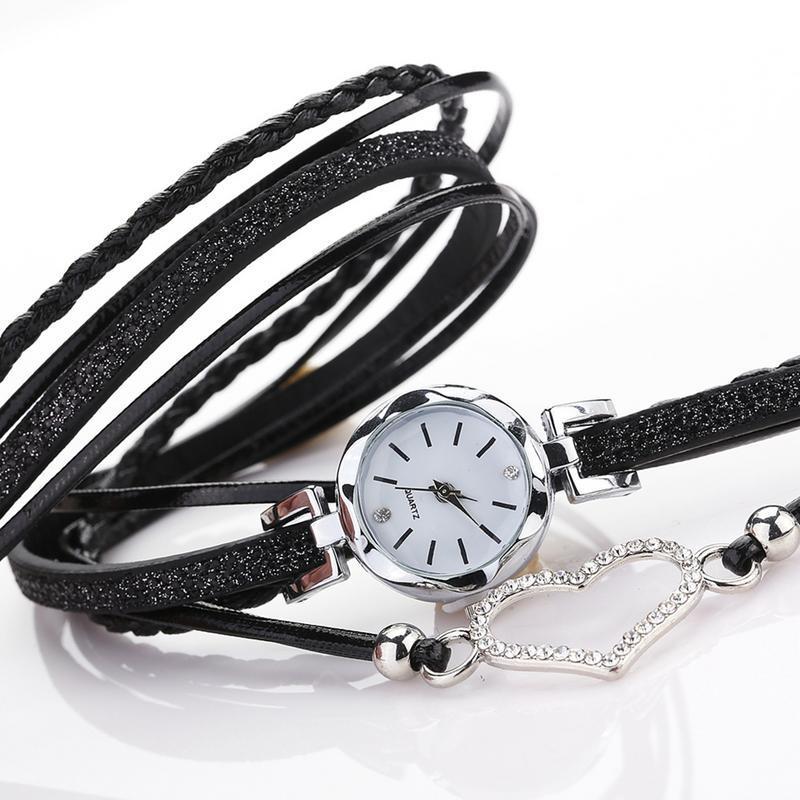 Moda de alta Qualidade Mulheres Pulseira Relógio de Luz Apenas 23g Senhoras Presentes Relógio 6 Cor