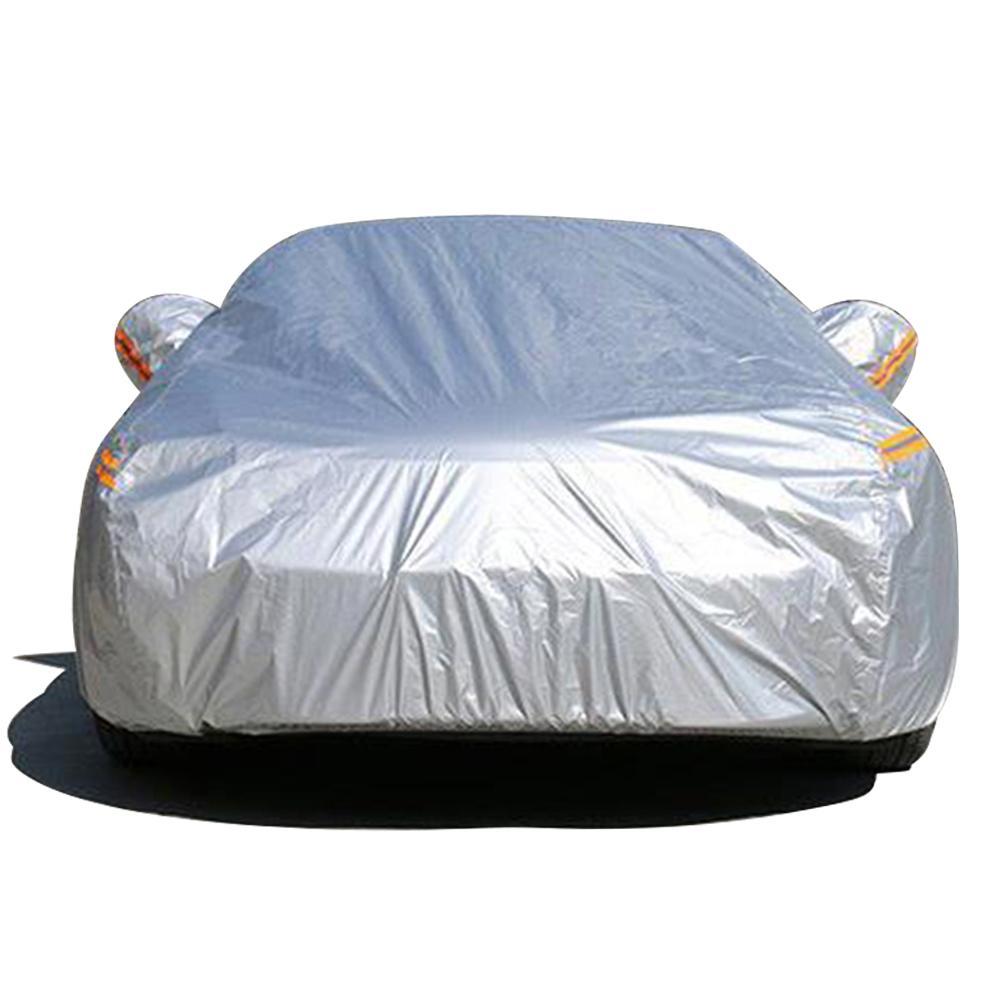 NOVSIGHT Водонепроницаемый полный автотентами Открытый Sun Защитная крышка для автомобилей Отражатель пыли дождя снег Защитный S M L XL XXL Размер