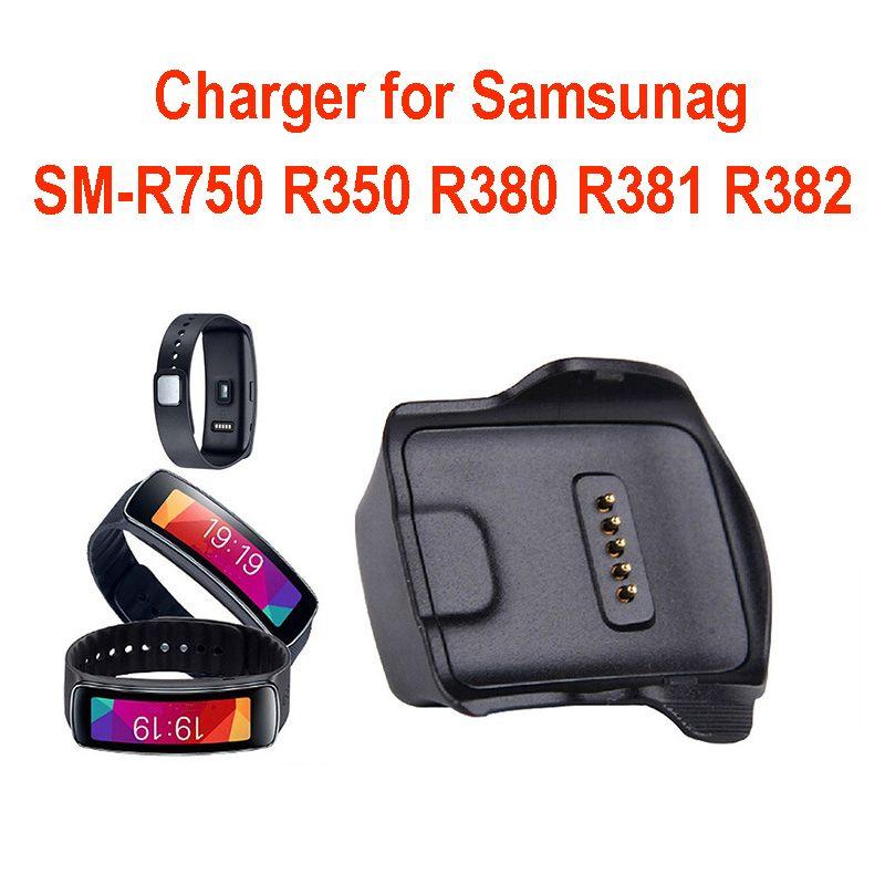 R382 Cargador SM-R750 R350 R380 R381 Base de carga del cargador de cuna para Samsung Galaxy S Gear reloj Smart Watch
