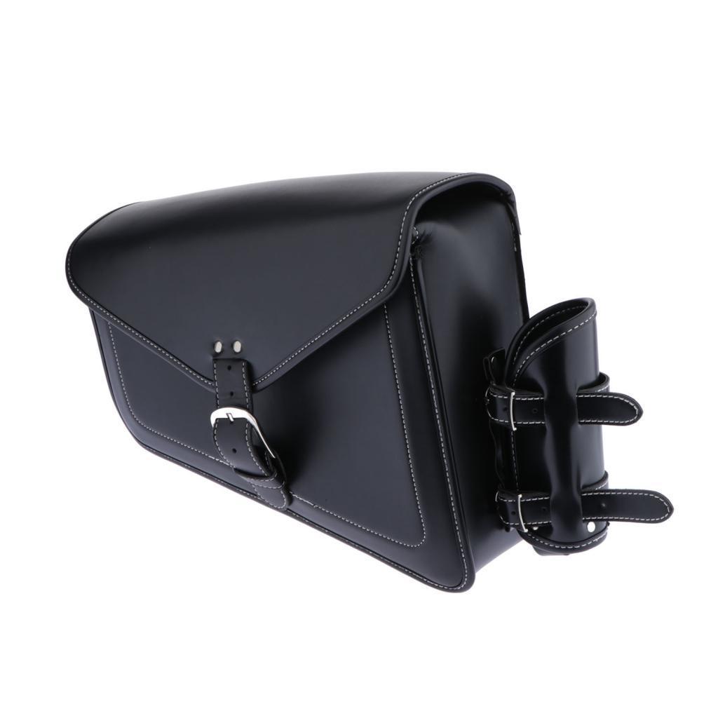 Retro Moto Side Saddlebags Sac de selle Outils Bagagerie
